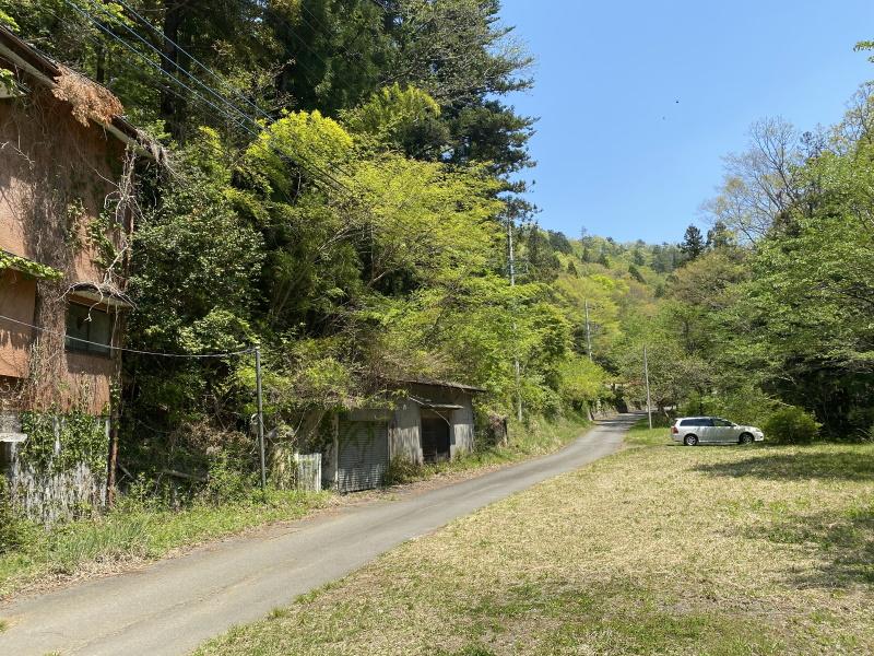 登山道駐車場